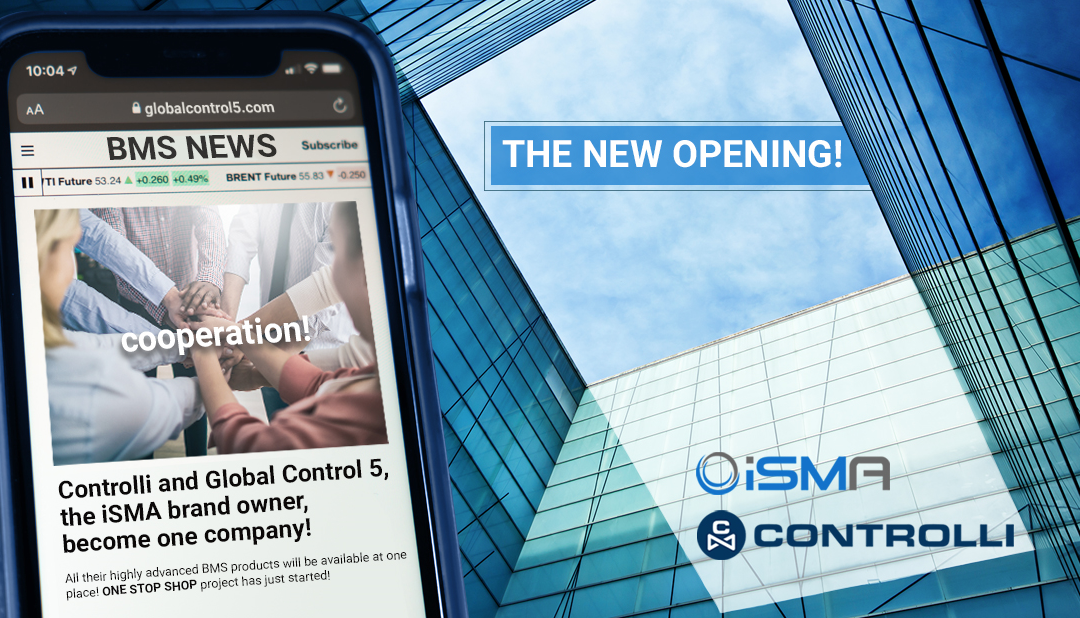 Controlli S.p.A. and Global Control 5 S.A. merge to build and deliver sustainable and complementary solutions for the BMS industry.